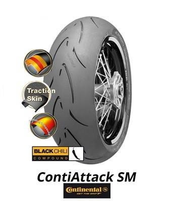 continental contiattack sm 150 60 r17 m c 66h tl rear tyre. Black Bedroom Furniture Sets. Home Design Ideas