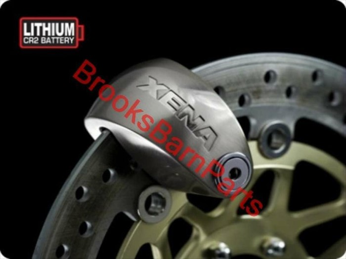 Stainless Steel Disc-Lock Alarm for Motorcycle XX6-SS XENA