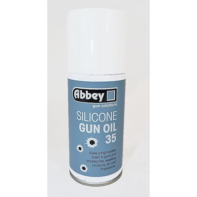 Abbey Silicone Gun Oil 35 Spray 150ml