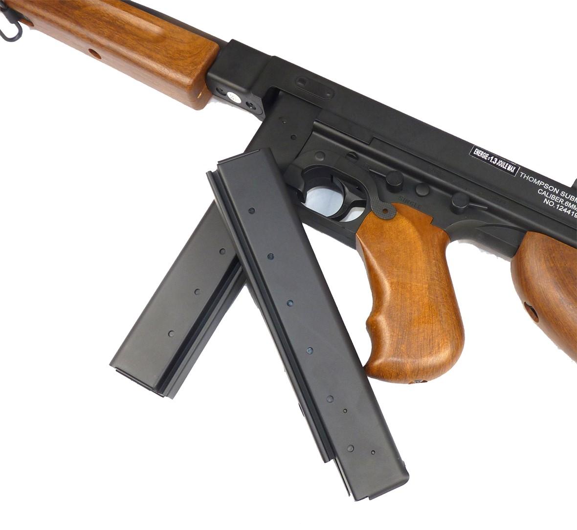 Cybergun Thompson M1A1 Military Airsoft Gun   Actionhobbies