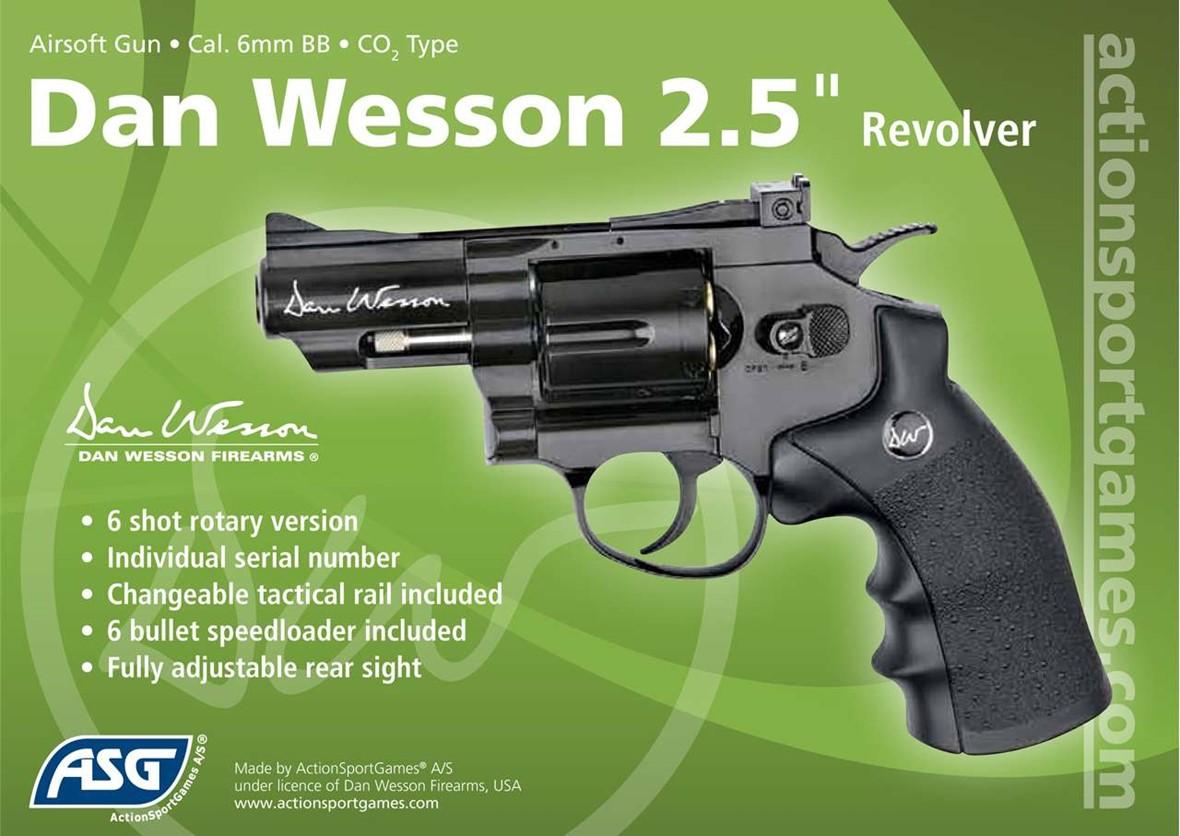 dan wesson co2 revolver black 2 5 inch. Black Bedroom Furniture Sets. Home Design Ideas