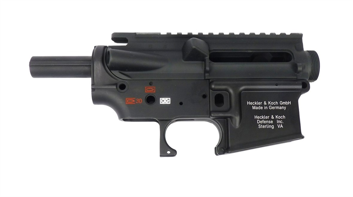 Guarder New Generation M4 HK416 Style Metal Receiver - Black