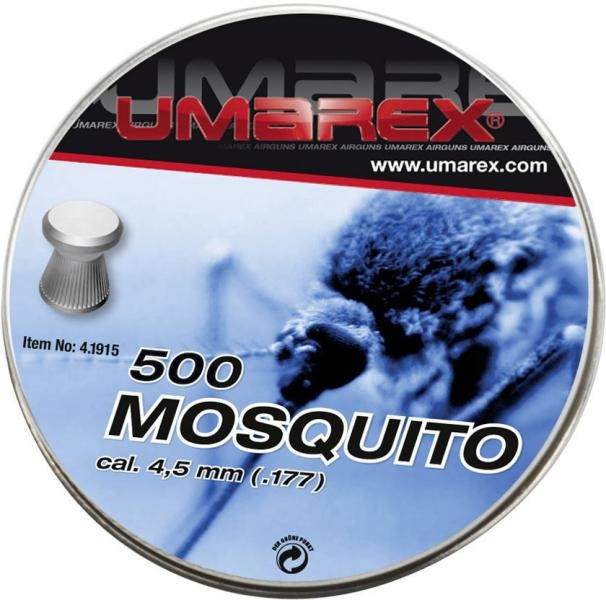 Umarex mosquito 177 pellets flat for Mosquito pellets