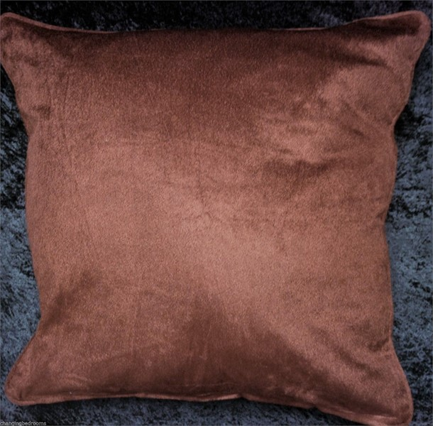 Changingbedrooms CHOCOLATE BROWN FILLED LARGE VELVET