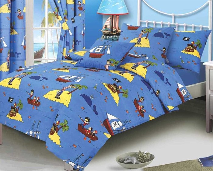 Changingbedrooms Com Double Size Treasure Island Kids