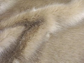 Super Luxury Faux Fur Fabric Material SWISS OLIVE GREEN