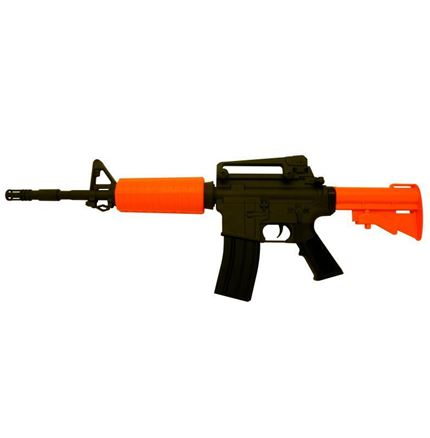Airsoft BB Gun - M4A1 Carbine fully auto battery powered + 2000 free BBs