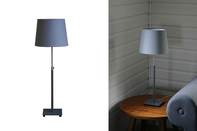 Baltic Table Lamp - Dark Grey