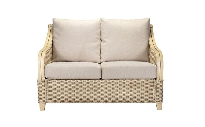 Brasilia 2 Seater Sofa - Cane Furniture by Desser