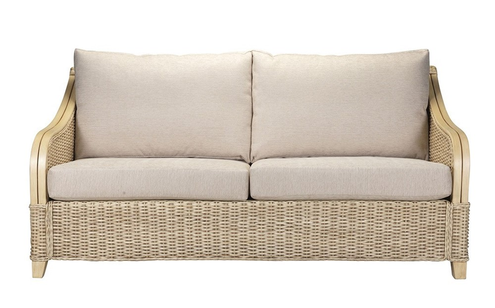 Brasilia 3 Seater Sofa Cane Furniture By Desser