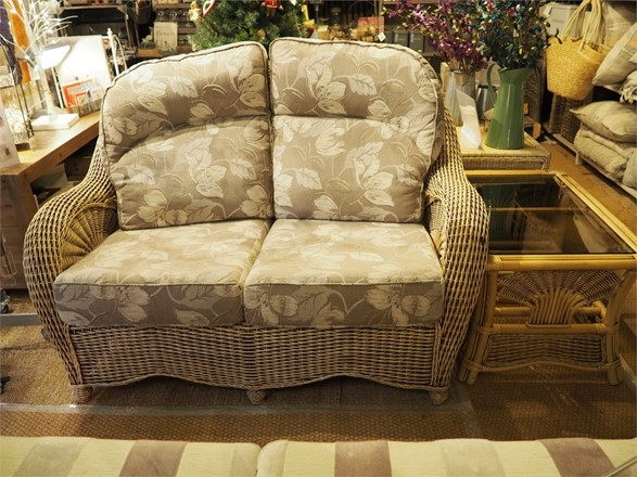 Cane furniture clearance - EX DISPLAY - Westbury sofa and coffee table