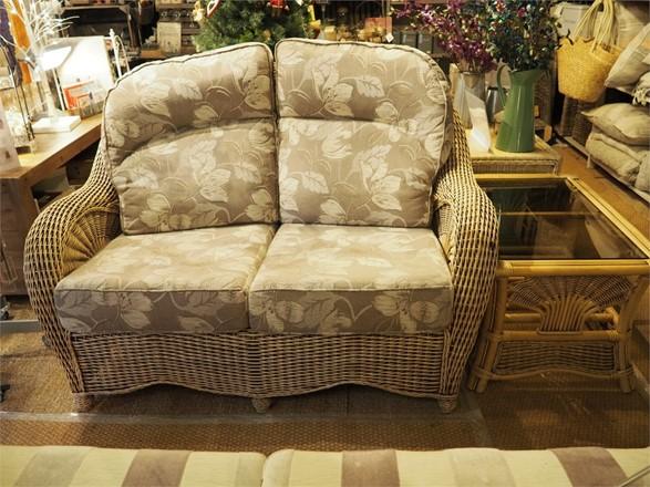 Cane furniture clearance - EX DISPLAY - Westbury sofa