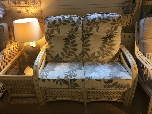 Cane furniture clearance - Ex display Windsor sofa and coffee table