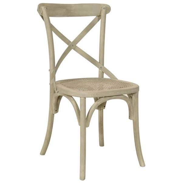 Canterbury Cross Back bent wood Dining Chair Vintage