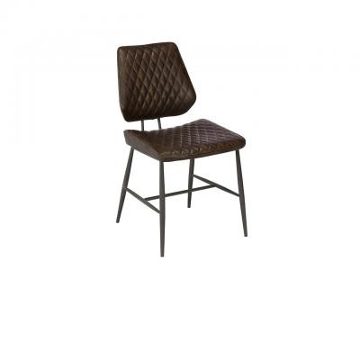 Dalton Dining Chair - Dark Brown