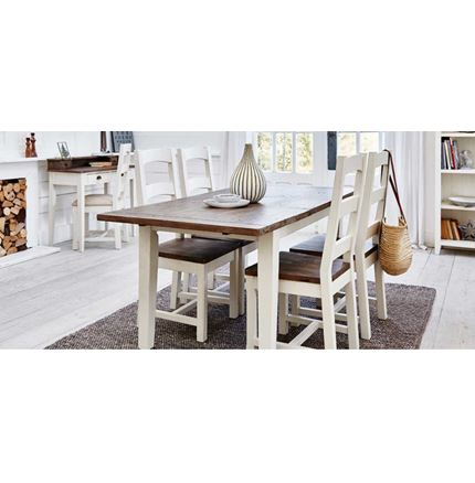 EX DISPLAY 140cm Ext Dining Table - Cotswold Dining Furniture