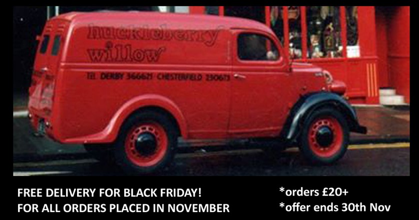 FREE DELIVERY FOR BLACK FRIDAY - THROUGH OUT NOVEMBER!