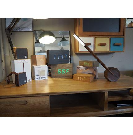 Gingko Wooden Clocks Speakers & Lighting