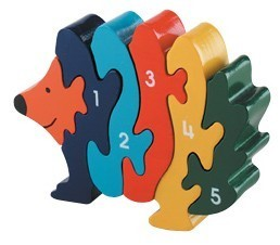 Hedgehog 1 - 5 Jigsaw