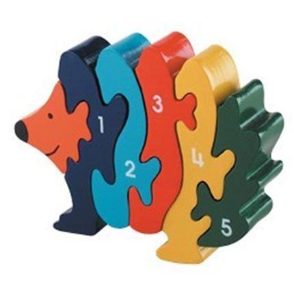 Hedgehog 1 - 5 Jigsaw