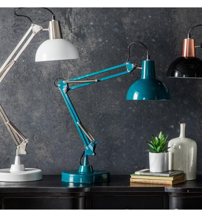 Holmes Table / Desk Lamp - Teal