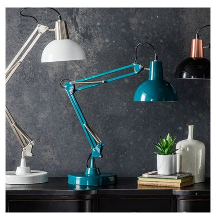 Holmes Table / Desk Lamp - Teal