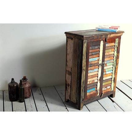 Little Tree Reclaimed Furniture - Mary Rose Upcycled 2 Door Sideboard / Drink Cabinet