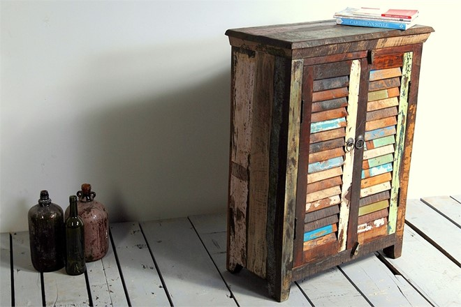 Little Tree Reclaimed Furniture - Mary Rose Upcycled 2 Door Sideboard