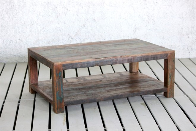 Little Tree Reclaimed Furniture - Mary Rose Upcycled Coffee Table