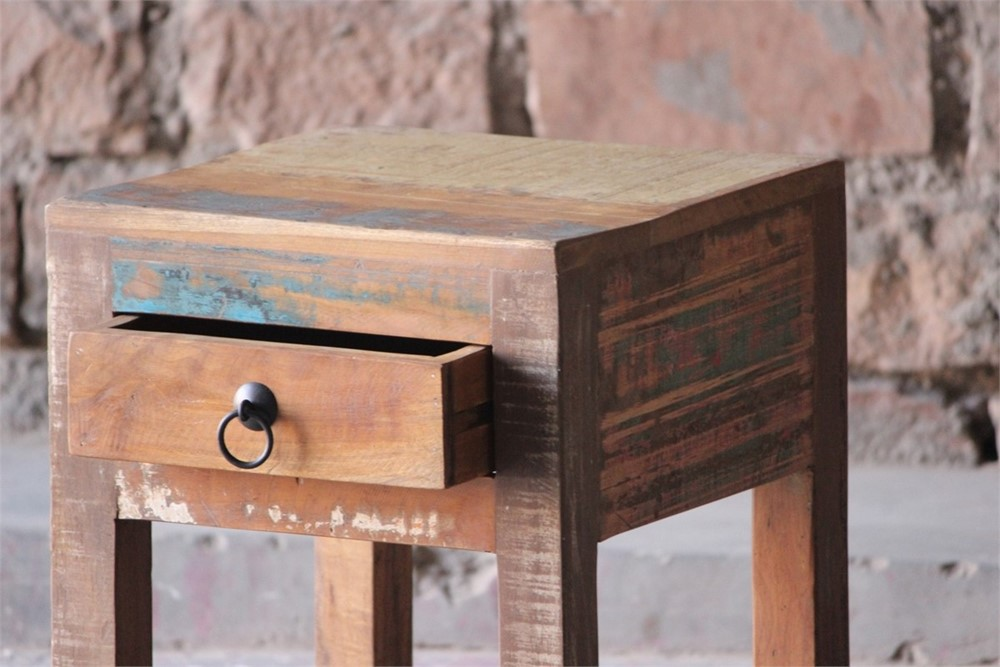 Little Tree Reclaimed Furniture - Mary Rose Upcycled Side Table