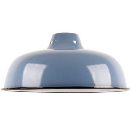 Medium Enamel Light - Lamp shade - Blue - 10inch Dia