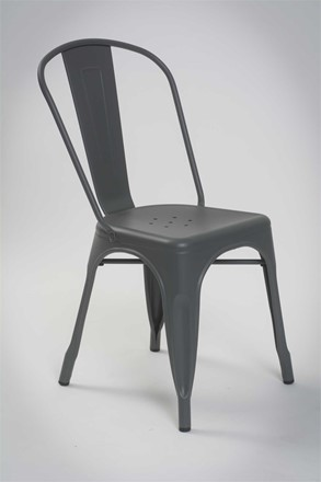 Mess Dining Chair - Metal Grey