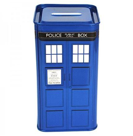 Money Box Tall - Dr Who (Tardis)