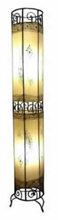 Moroccan Henna Floor Lamp - Tube 130