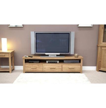 Opus Oak Wide Plasma Unit / stand - Large