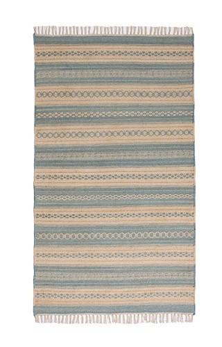 Palani stripe kilim rug, 90 x 150cm