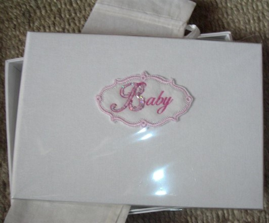 Pink 'Baby' photo album (by Saffron)