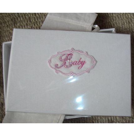 Pink 'Baby' photo album (by Saffron)