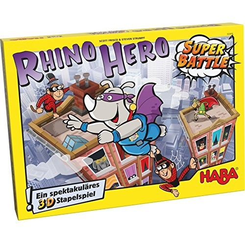 Rhino Hero Super Battle Game by Haba