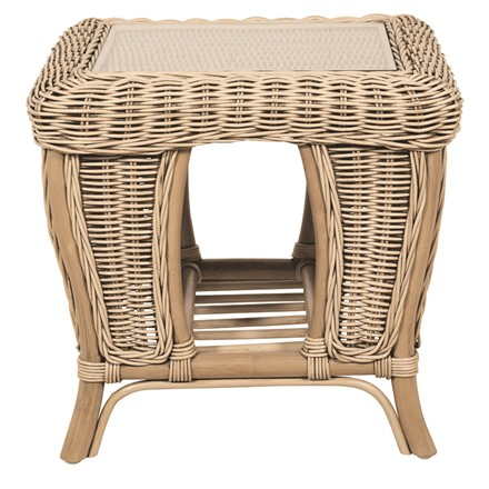 Salzburg Side Table  - pebble finish by Pacific Lifestyle