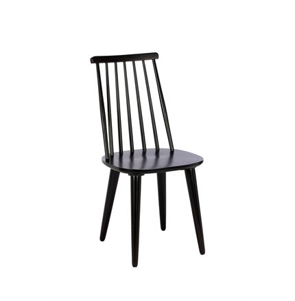 Stockholm Dining Chair - Black