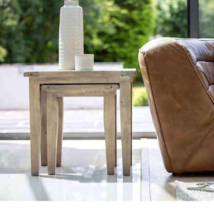 Valetta Dining Furniture - Nest of Table