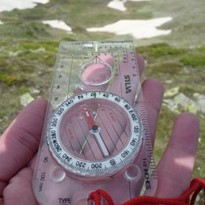 Holding Compass Correctly
