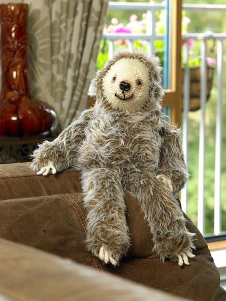 James C Brett Faux Fur Sloth Pattern Jb282