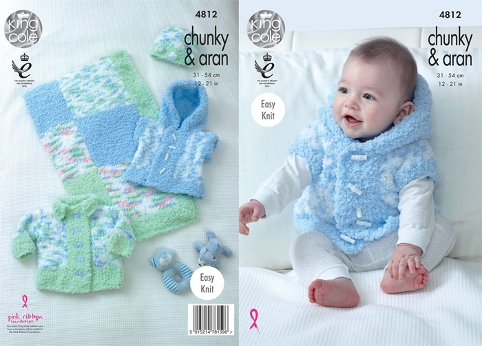 dec24bf0b6fa King Cole Cuddles Chunky Pattern KC4812 thumbnail ...