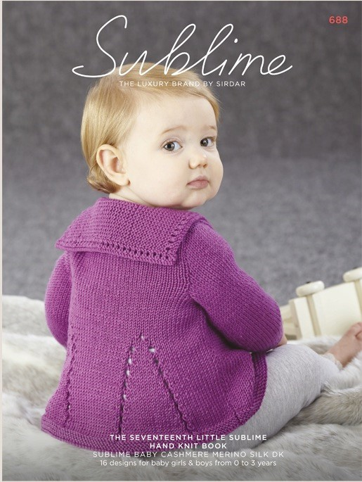 Knitting Patterns For Teddy Bear Clothes : Sublime 17th Baby Cashmere Merino Silk DK Book 688