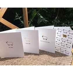 Wool blanket online british made gifts greeting cards thank ewe set of 3 british quality greeting cards m4hsunfo