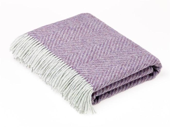 heather throw blanket