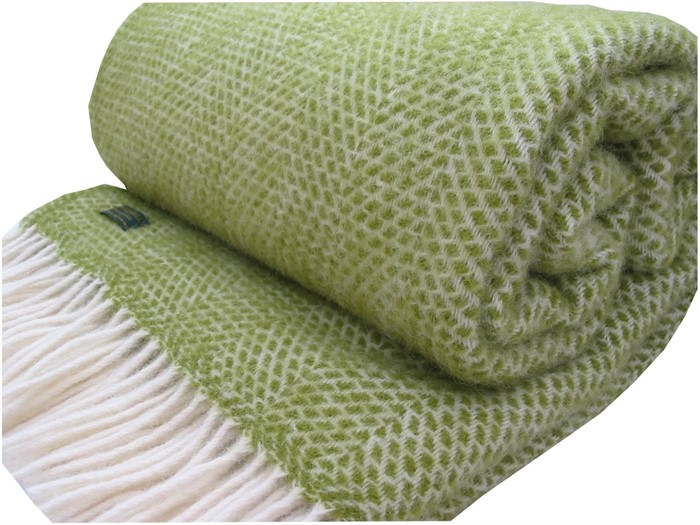 Wool Blanket Online British Made Gifts Honeycomb Pure