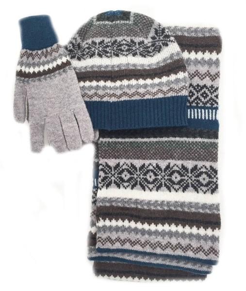 Wool Blanket Online. British made gifts. Men's Lambswool Fairisle ...